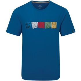 Sherpa Tarcho T-shirt Heren, kongde blue